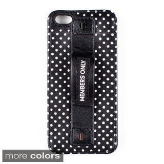 Lambskin Leather iPhone 5 Snap Case with Grip
