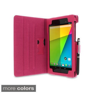 rooCASE Dual View Folio Case Cover Stand for Google Nexus 7 FHD 2013 (2nd Generation)