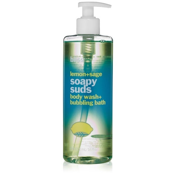 Bliss Lemon + Sage Soapy Suds 16-ounce Body Wash