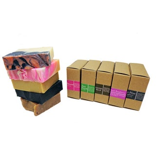 The Mysterious 5 Handmade 4-ounce Soaps (Pack of 5)