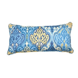 Lunar Azure Decorative Throw Pillow