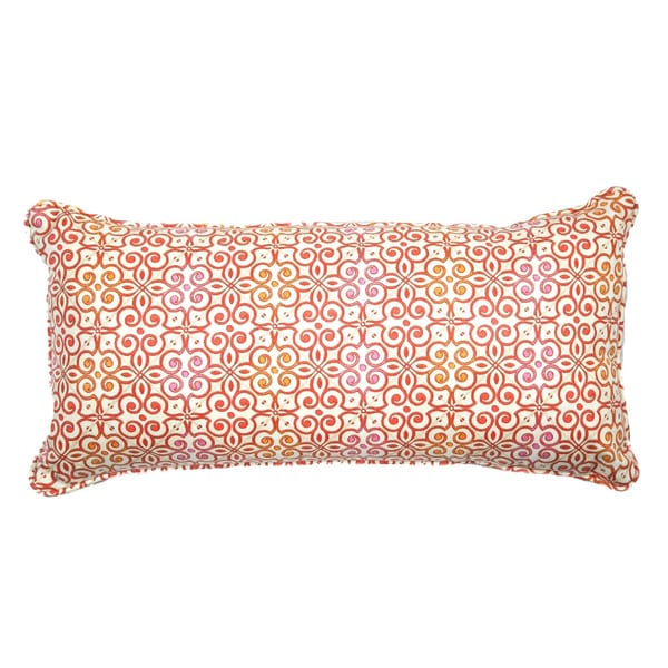 Mango Interlock Decorative Throw Pillow