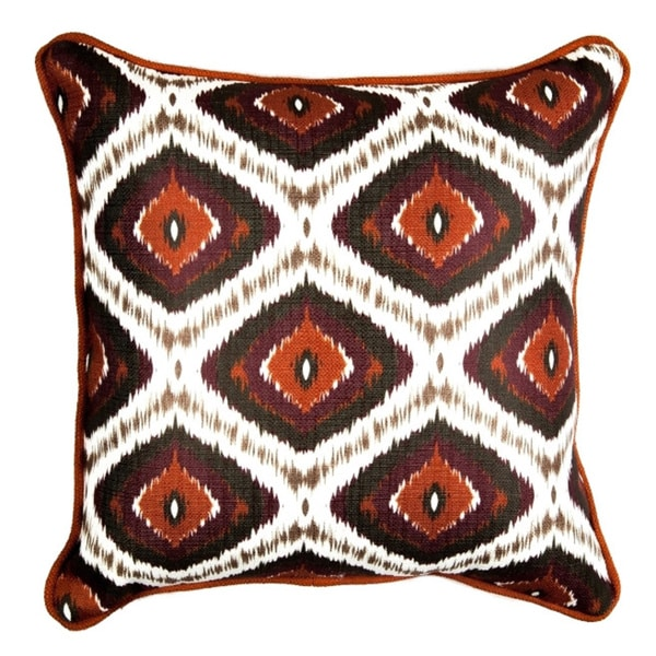 16 x 16-inch Mulled Wine Decorative Throw Pillow