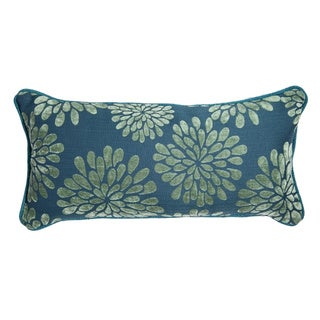 12 x 22-inch Jade Palm Decorative Throw Pillow