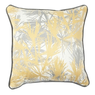 16 x 16-inch Desert Palm Decorative Throw Pillow