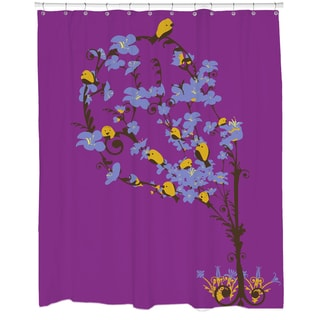 Cherry Tree Loving Shower Curtain