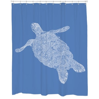 Elegant Turtle Shower Curtain