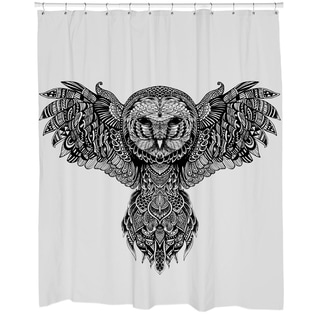 Majestic Owl Shower Curtain