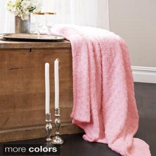 Lush Decor Rosina Embroidered Throw Blanket
