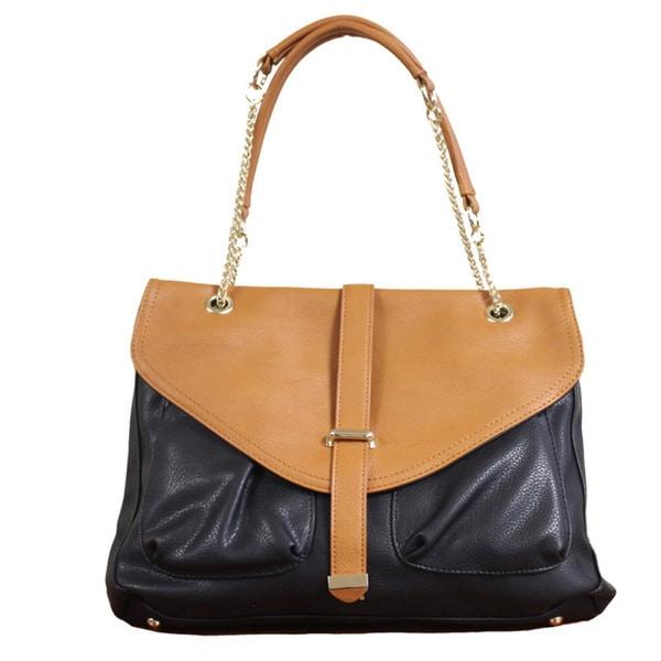 Lithyc 'Nola' Vegan Leather Shoulder Bag