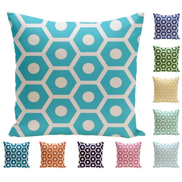 26 x 26 Geometric Decorative Pillow