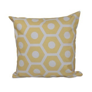 26 x 26 Geometric Decorative Pillow