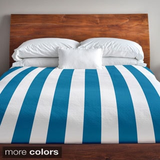 104 x 88-inch Two-tone Stripe Duvet Cover
