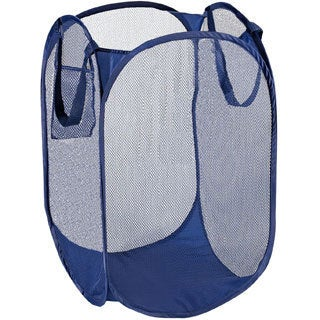 Large Pop Open Blue Hamper