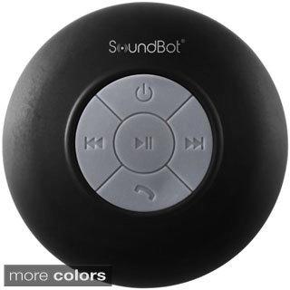 SoundBot HD Water Resistant Portable Bluetooth Shower Speaker