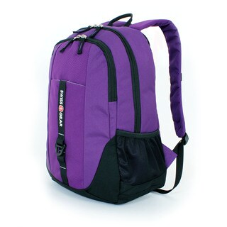SwissGear Dark Purple 18-inch Tablet Backpack