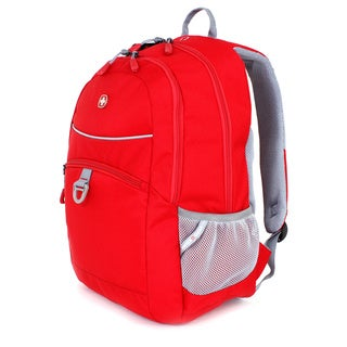SwissGear Red Course 18-inch Tablet Backpack
