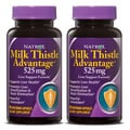 Natrol Milk Thistle Advantage Capsules 60 Count (Pack of 2)