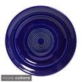 Concentrix 12-inch Ceramic Dinner Plates (Set of 6)