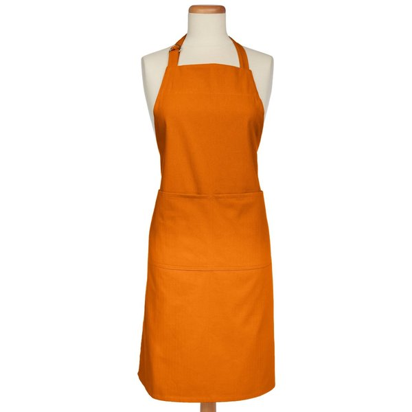 Orange Cotton Apron