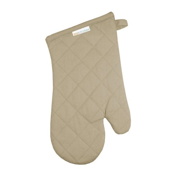 Flax Cotton Oven Mitt