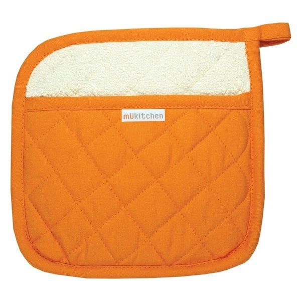 Orange Cotton Potholder