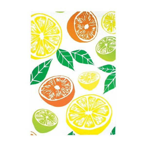 Citrus Cotton Kitchen Towel