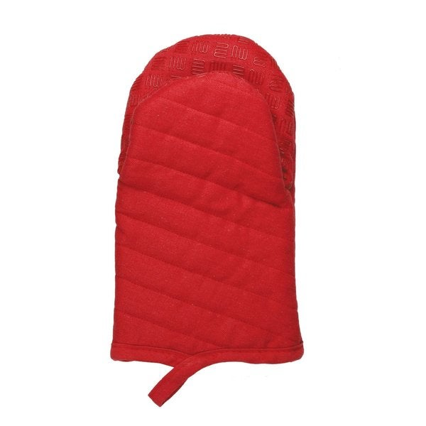 Pepper Red Silicone Grip Mitt