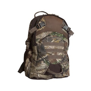 Outdoor Realtree Camo Leather Backpack