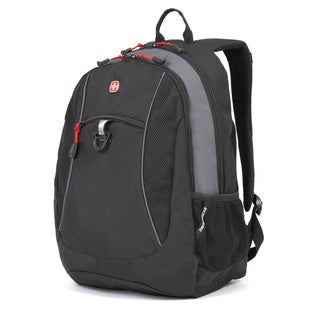 SwissGear 18-inch Black Cod/ Grey Tablet Backpack