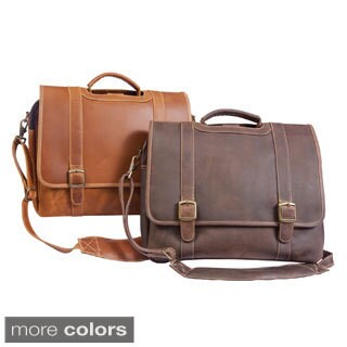 Canyon Outback Sedona 13-inch Leather Computer and iPad Briefcase