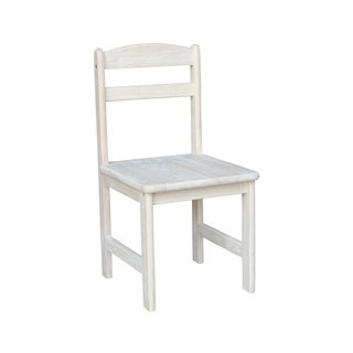 Unfinished Parawood Juvenile Chair (Set of 2)