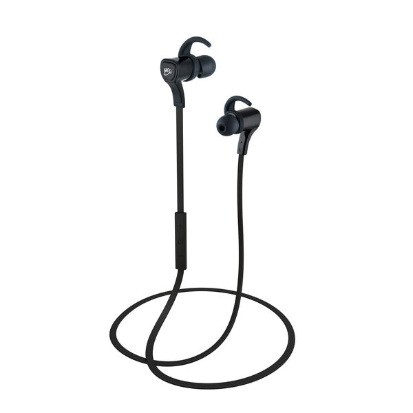 MEElectronics Air-Fi Metro2 AF72 Noise-Isolating In-Ear Stereo Bluetooth Wireless Headset (Black)