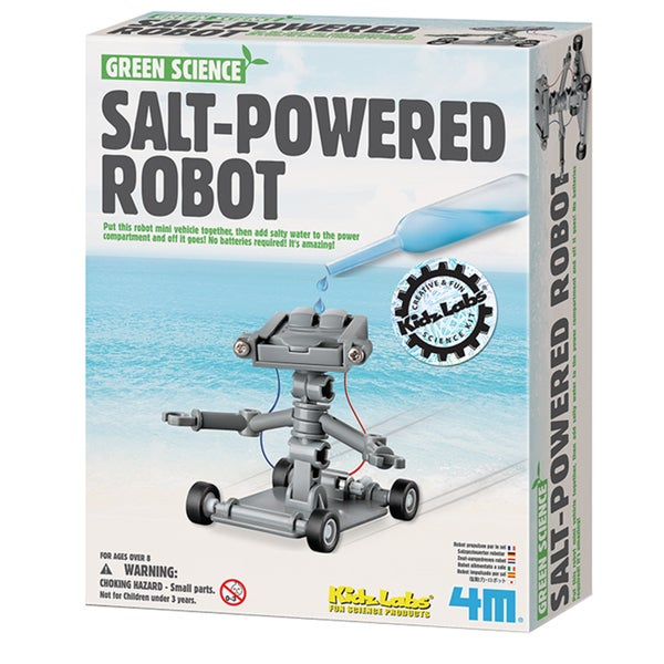 Toysmith Salt Water Powered Robot