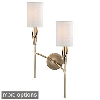 Hudson Valley Tate 2 Light Right Wall Sconce
