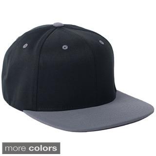 Flexfit Wool Blend Flat Bill Two-tone Baseball Cap