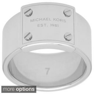 Michael Kors Stainless Steel Fashion Ring