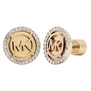 Michael Kors Goldtone Crystal Earrings
