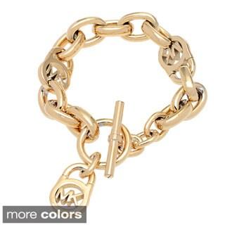 Michael Kors Goldtone Stainless Steel Link Bracelet