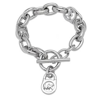 Michael Kors Silvertone Link Bracelet