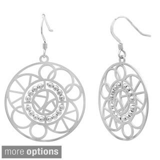 Sterling Essentials 14k Goldplated Silver Kaleidoscope Dangle Earrings