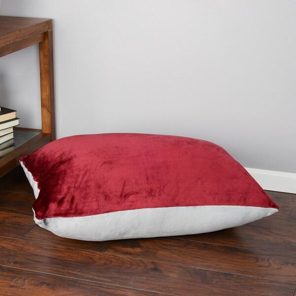 Oversized Plush Floor Cushion 28 X 36 Inches 16471790