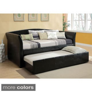 Hanover Contemporary Style Twin Daybed with Twin Trundle