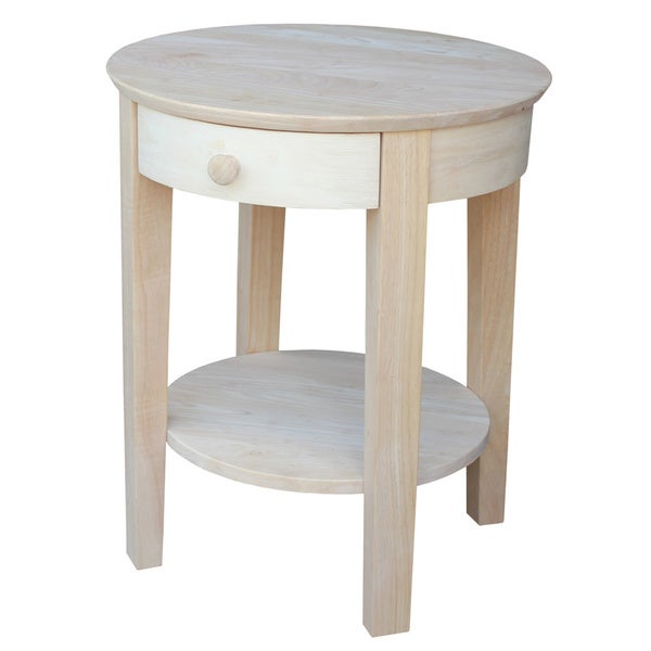 Philips Unfinished End Table