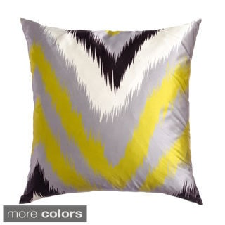Flare 20-inch Feather-filled Throw Pillows (Set of 2)
