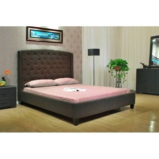 Queen Fabric Bed