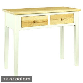 Felicia Double-drawer Console Table