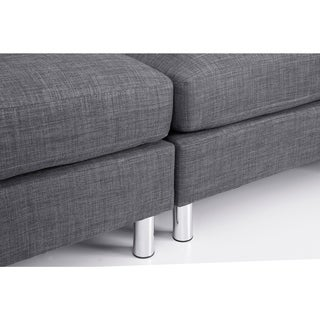 Beliani Contemporary Sectional Sofa