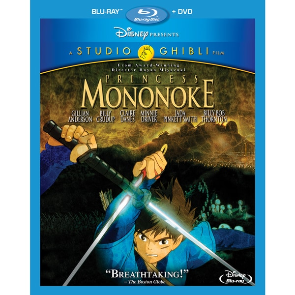 Princess Mononoke (Blu-ray/DVD) 13699227