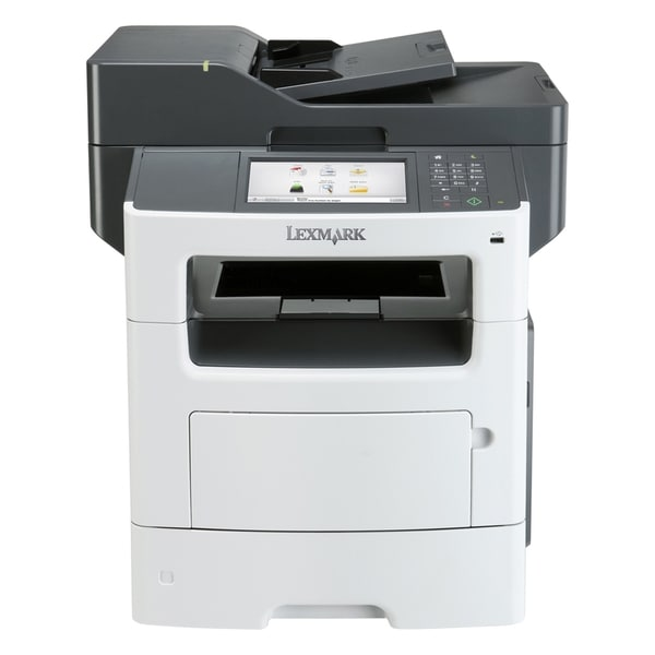 Lexmark MX611DE Laser Multifunction Printer - Monochrome - Plain Pape